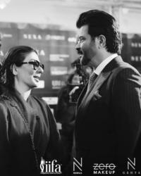 Nabila & Anil Kapoor